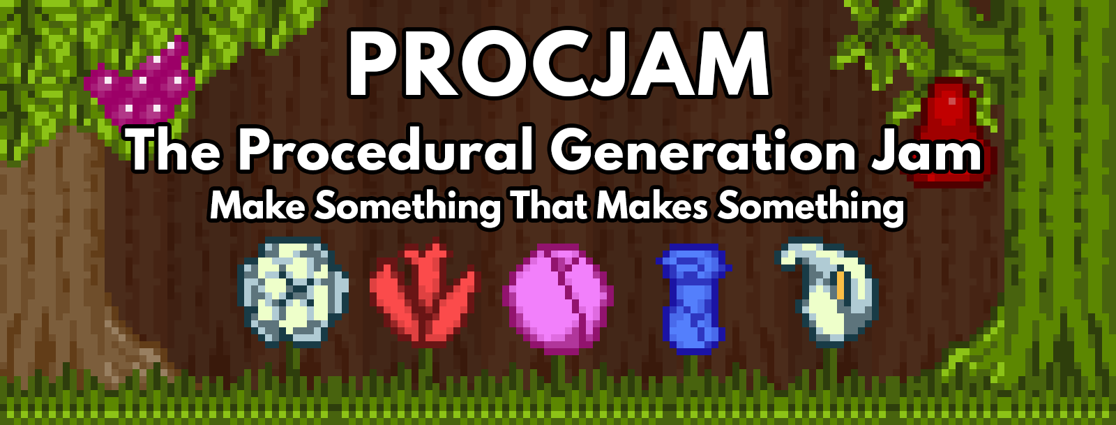 Procedural Generation Jam 2016