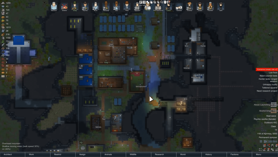 Colony Simulator 'RimWorld' Is About to Exit Early Access, AI Narration In Full Tow