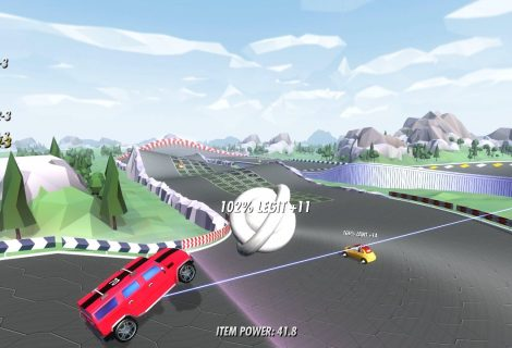 'Speedway Heroes' (v0.2.12): Hit the Track In Crazy Car vs. Horse vs. UFO Races