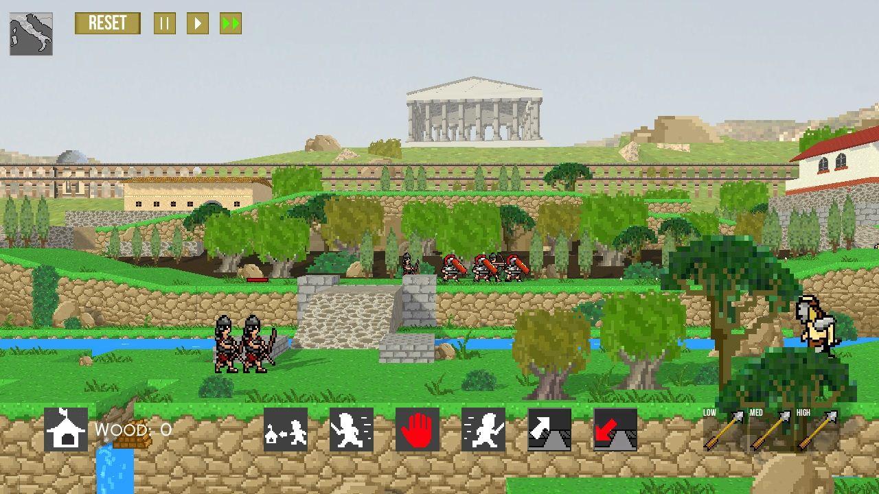 Super Roman Conquest pre-alpha