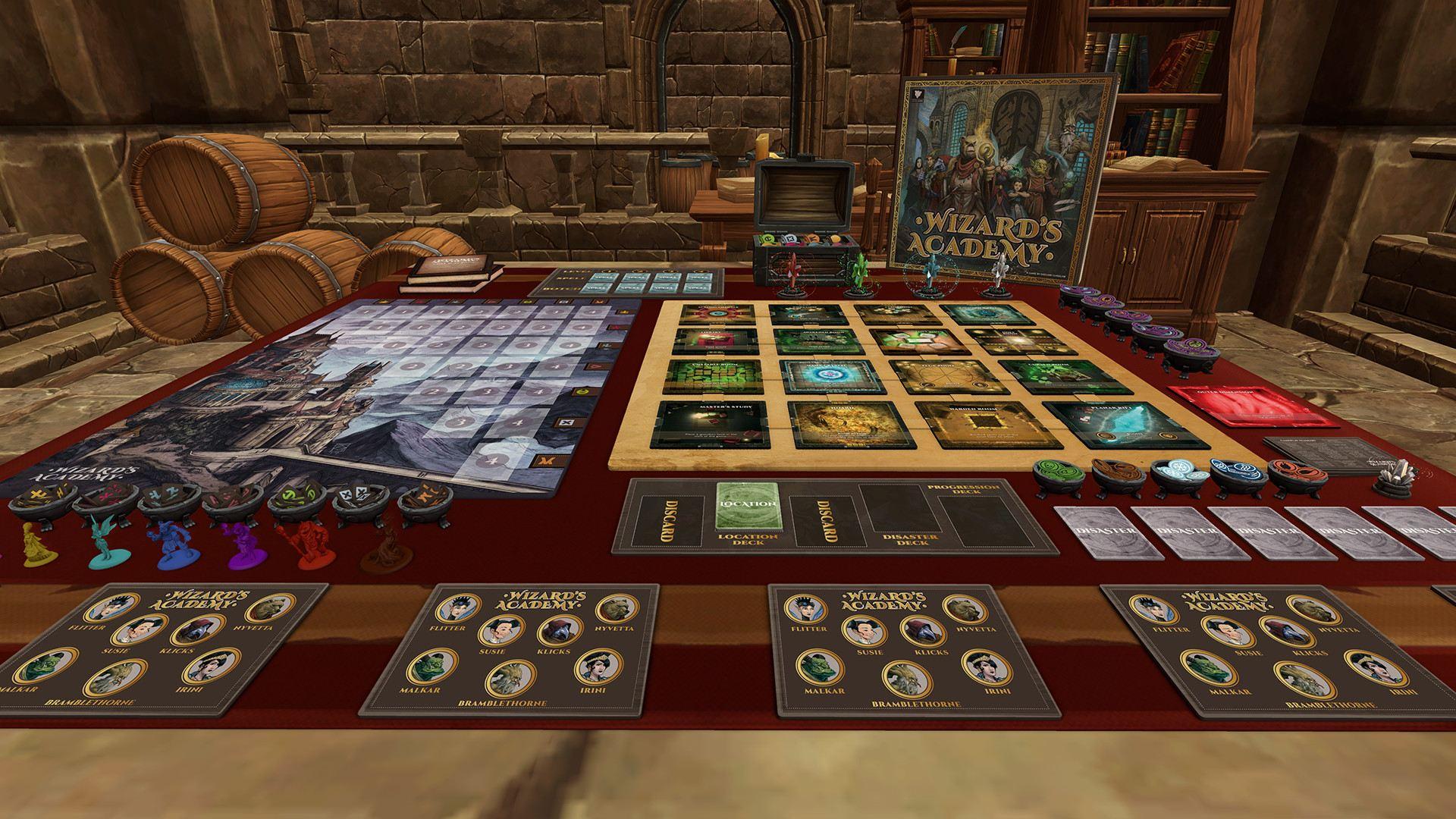 Tabletop Simulator - Wizard's Academy