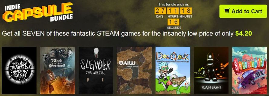 The Indie Capsule Bundle Has a Lot of Good Stuff On Sale… Stranger
