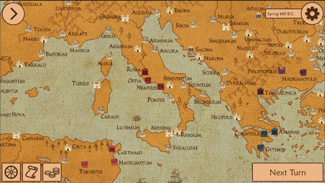 The legions of Rome (GL)