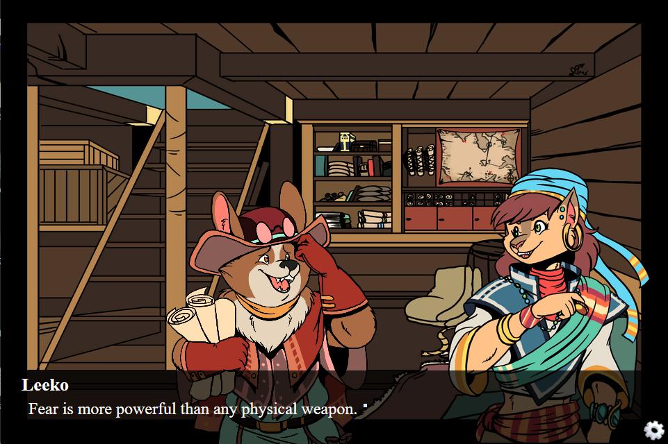 The Pirate's Fate (GL)