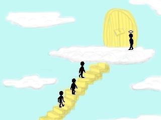Three Guys Walk Into Heaven (MAGS)