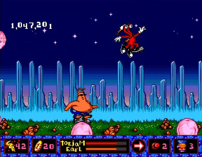 ToeJam and Earl in Panic On Funkotron XBLA/PSN