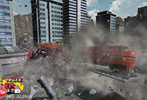 'Truck Stop' Set to Bring Back 'Burnout's Explosive Over-the-Top Crash Mode