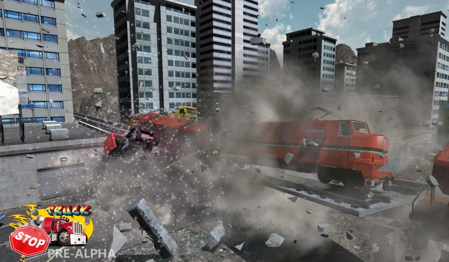 'Truck Stop' Set to Bring Back 'Burnout's Explosive Over-the-Top Crash Mode