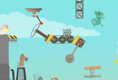 'Ultimate Chicken Horse' Celebrates Impending Console Ports With a Purple Elephant