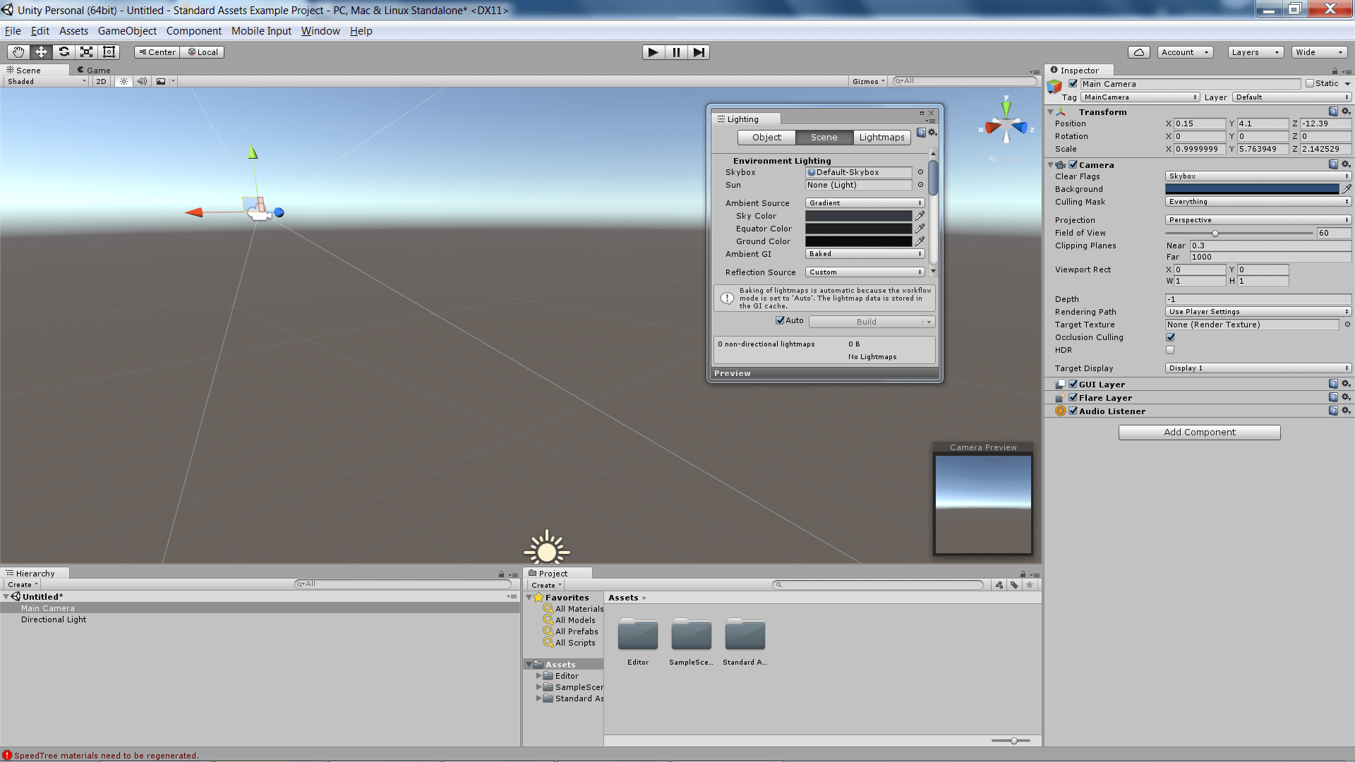 Unity 5.4 (beta)