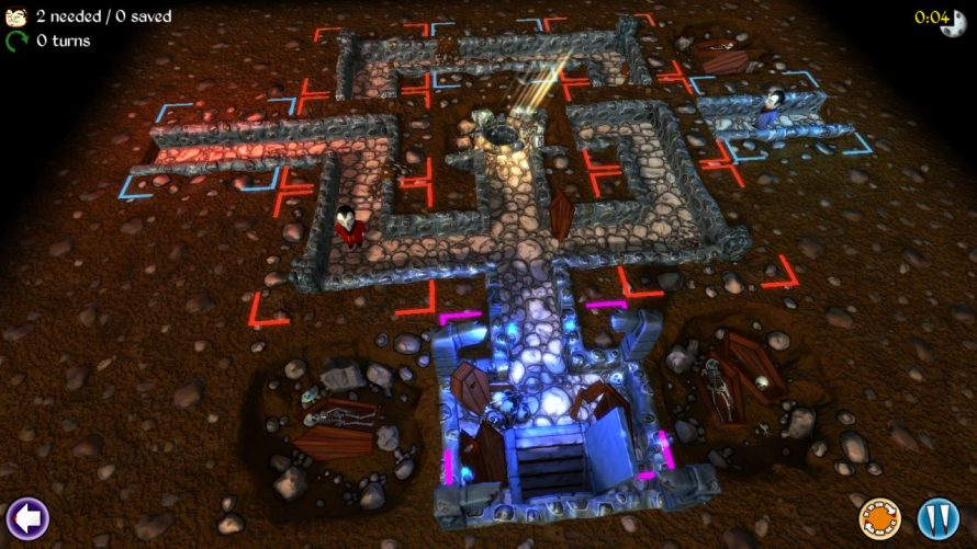 Help Guide the Undead to Their Crypts In the 'Vampires!' Demo
