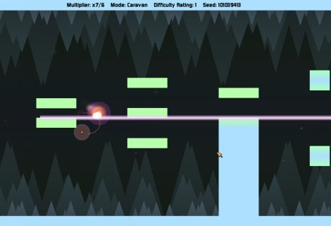 Be a Crazy Risk-Taker as You Glide Through 'Void Wisp' to Rack Up Points
