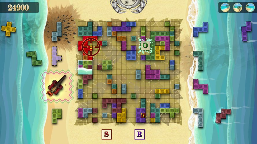 'Washed Up!' Twists 'Tetris' With a Top-Down Beach Perspective to Fight Pollution
