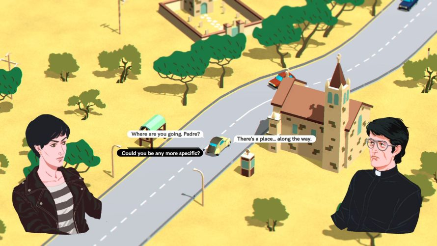 70s Style Interactive Fiction Hits the Road in 'Wheels of Aurelia'