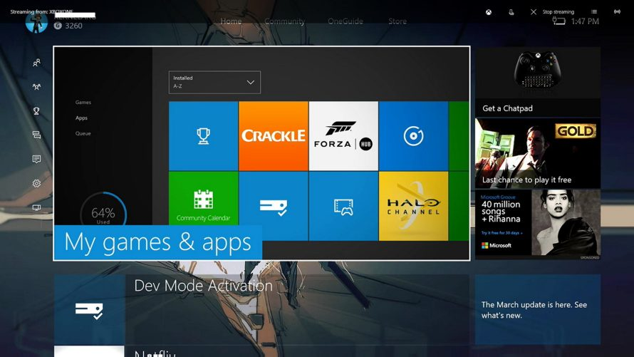 """Microsoft Finally Adds """"Dev Kit"""" to the Feature List of Xbox One Consoles Everywhere"""