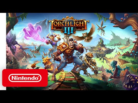 Torchlight III - Announcement Trailer - Nintendo Switch