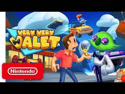 Very Very Valet - Announcement Trailer - Nintendo Switch