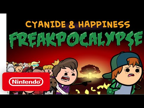 Cyanide & Happiness – Freakpocalypse - Announcement Trailer - Nintendo Switch