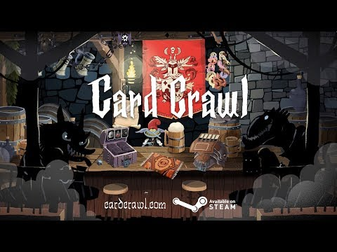 Card Crawl Steam Release Trailer - Available on Steam