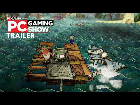 Trash Sailors trailer|PC Gaming Show 2020
