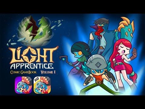 Light Apprentice Comic GameBook - Story Trailer 2017