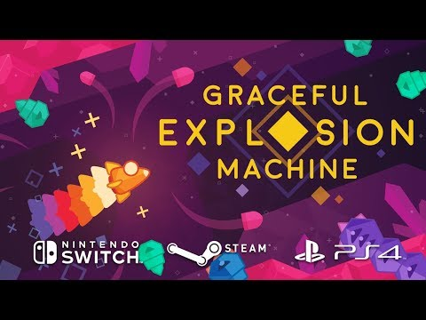 Graceful Explosion Machine — Launch Trailer