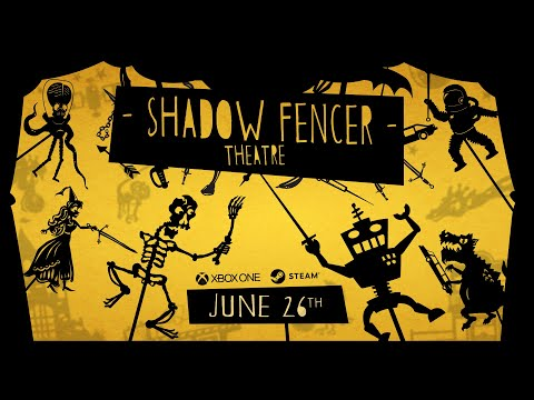 Shadow Fencer Theatre - Official Release Date Trailer - Out June 26th, 2019!