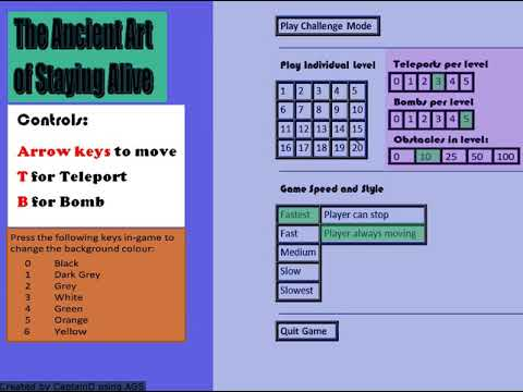 The Ancient Art of Staying Alive - new features (v1.2)