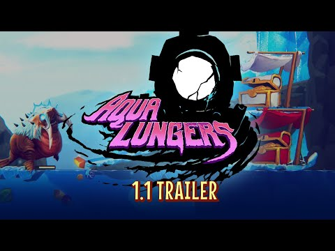 Aqua Lungers 1.1 Gameplay Trailer