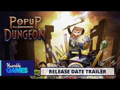 Popup Dungeon | Release Date Trailer