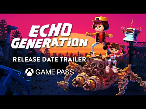 Echo Generation - Release Date Trailer (Xbox Game Pass)