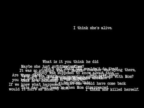 It's okay to see things. Right? (Gray Skies, Dark Waters Trailer)