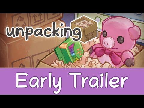 Unpacking Trailer