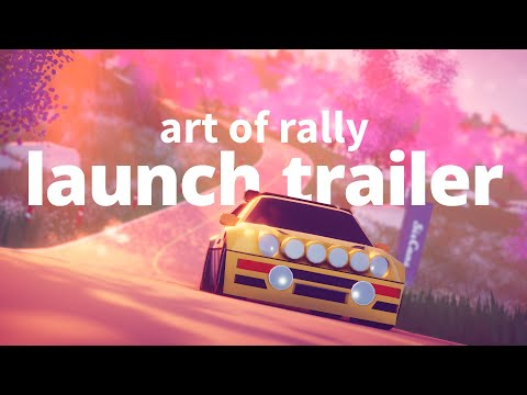 art of rally - Launch Trailer - OUT NOW!