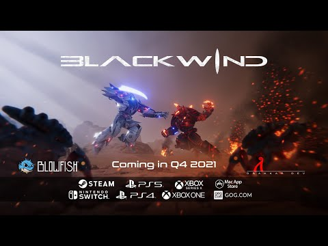 Blackwind - Reveal Trailer - Coming soon!