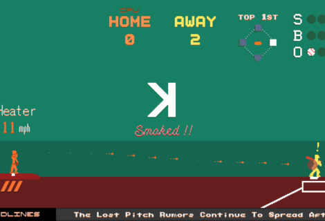 Do Not Underestimate the Importance of a Good Pitch in '2D Baseball Duel'