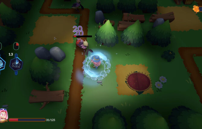 Blast Through an Adorably Corrupted Forest in 'A Witch's Tale'