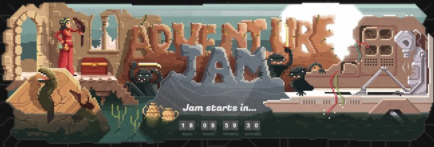 AdventureJam: Pointy and Clicky Games Will be Made This April