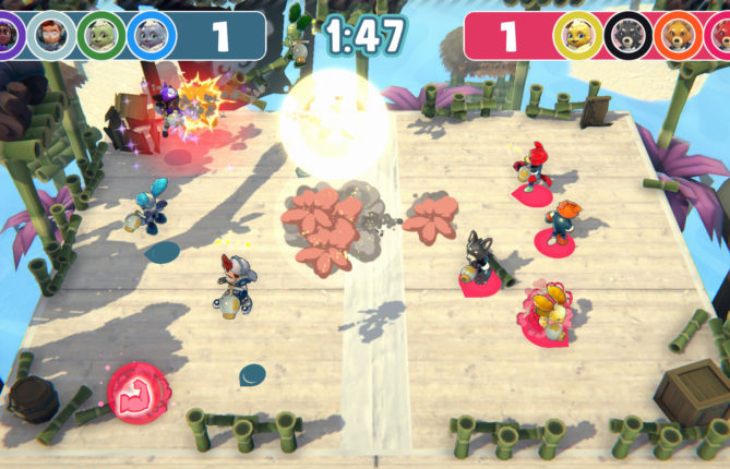 Make the Wind Blow in 'Aeolis Tournament's Chaotic Party Games and Claim Victory With a Single Button
