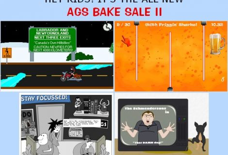 Hear Ye, Hear Ye, Brave Adventurers: AGS Bake Sale 2 Is Upon Us