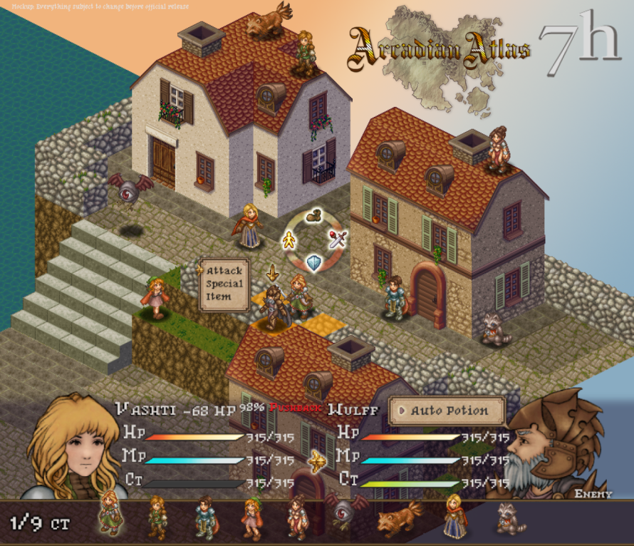 'Arcadian Atlas' Aims to Mix Gritty Storytelling With the Tactical Depth of SRPG Classics