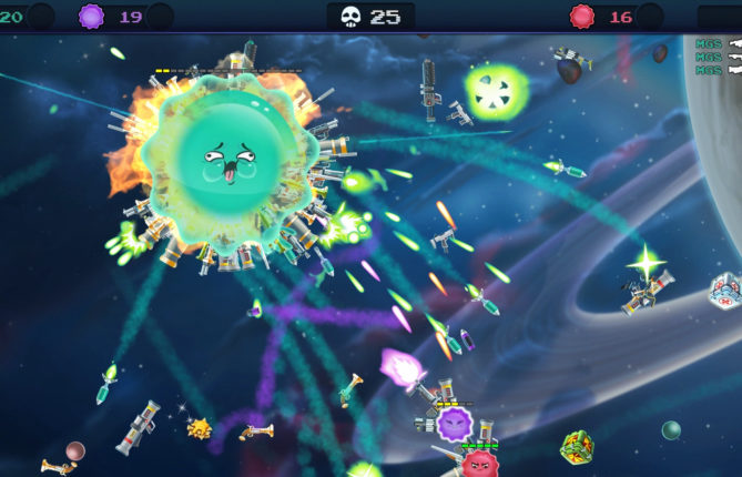 Master the Art of Blob to Outwit (and Outgun) Your Friends in Upcoming Arcade Shooter 'Armed and Gelatinous'