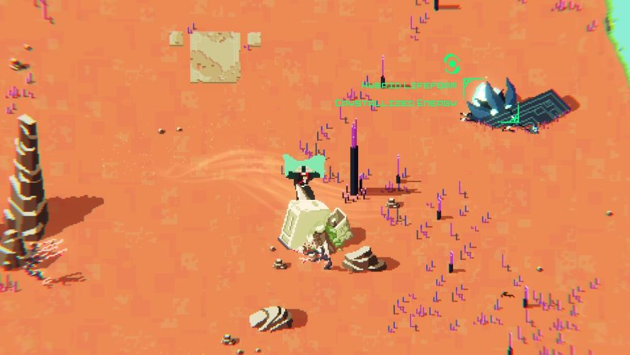 'Aube' is an Equally Gorgeous and Confusing Pixellated Blend of Fencing and Mystery