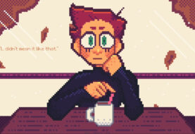 Hit the Café for a Pixellated Chat With Your Girlfriend in 'Autumn Fall'