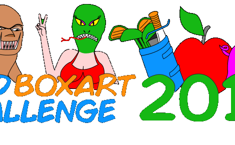 Mock Terrible Cover Art While Making Games In the Bad Box Art Challenge... Again!