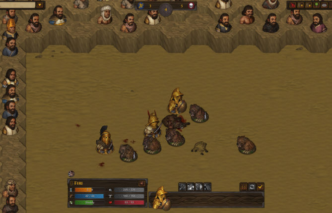 Winter is Appropriately Absent in the 'Battle Brothers - Blazing Deserts' DLC