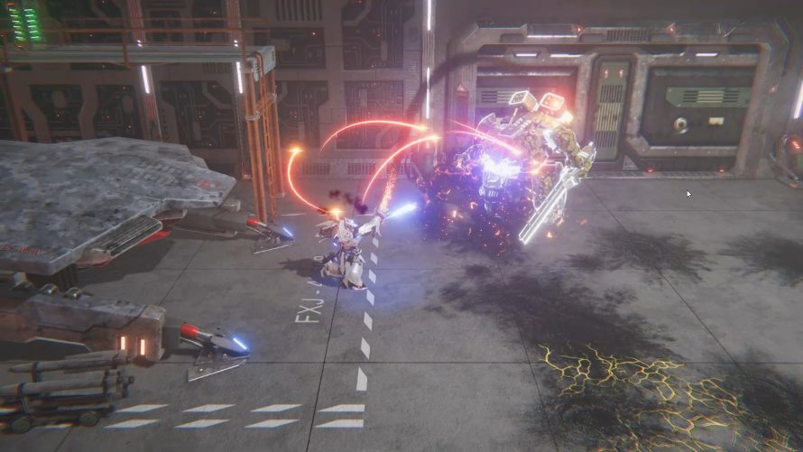 Hack and Slack Your Way Through 'Blackwind' in a Prototype Battle Frame