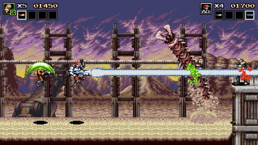 Bring Your Best Battle Buddy to Blast Baddies in 'Contra' Inspired Run 'n Gun 'Blazing Chrome'