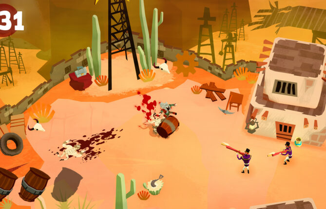 Blood Shall be Goreously Spilled in Relentless Murderballet 'Bloodroots'