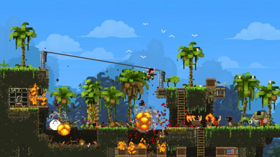 'Broforce' Update Adds Steam Workshop Support, New Bros and Other Goodies